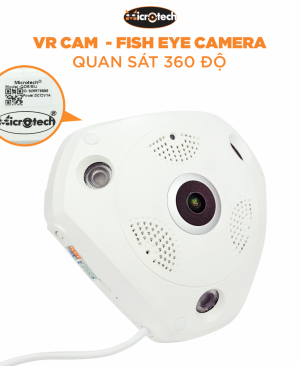 CAMERA IP WIFI MICROTECH VR-QD6