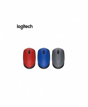 Mouse Không Dây Logitech M171 (Đen-Xanh-Đỏ)