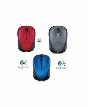 Mouse Không Dây Logitech M325 (Đen-Xanh-Bạc)