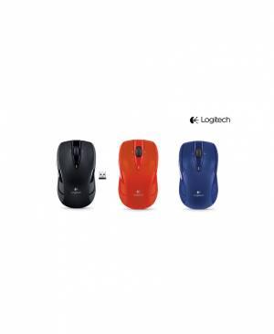 Mouse Không Dây Logitech M545 (Đen-Xanh-Đỏ)