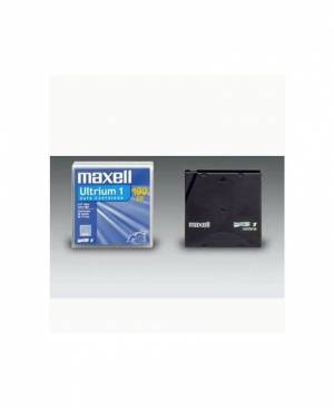 Maxell Ultrium LTO 1 Tape Cartridge - 100/200 GB Limited Lifetime LTOU1/100 183800